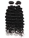 Brasilianskt hår Stora vågor Obehandlad hår Human Hår vävar Hårförlängning av äkta hår Människohår förlängningar / 10A
