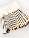 Professional Makeup Brushes Makeup Brush Set 24pcs Portable Travel Eco-friendly Professional Full Coverage Synthetic Hair Wood Makeup Brushes for Blush Brush Foundation Brush Makeup Brush Set