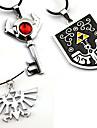 Smycken Inspirerad av The Legend of Zelda Cosplay Animé / Videospel Cosplay-tillbehör Dekorativa Halsband Legering Herr / Dam Halloweenkostymer