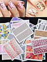 30 pcs Nagelsmycken nagel konst manikyr Pedikyr Vackert Mode Dagligen / Nail Smycken