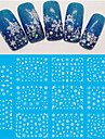 4 pcs 3D Nagelstickers Nagelsmycken nagel konst manikyr Pedikyr Vackert Mode Dagligen / pvc / Nail Smycken / 3D Nail Stickers