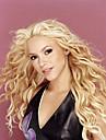 """Äkta hår Spetsfront Peruk stil Brasilianskt hår Vågigt Peruk 120% Hårtäthet Ombre-hår Naturlig hårlinje Afro-amerikansk peruk 100 % handbundet Dam 24"""""""