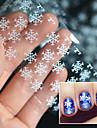 1 pcs 3D Nagelstickers nagel konst manikyr Pedikyr Vackert Punk / Bröllop / Mode Dagligen / Akrylfiber / 3D Nail Stickers