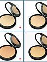 Enfärgad Makeup Set Pressat puder 1 pcs Torr Dækning / Concealer / Naturlig Ansikte Smink Kosmetisk