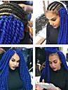 Grey Gradient / Brun / Röd havana twist Flätor Hårförlängningar 22inch Kanekalon 2 Strå 120g/pcs gram Hair Braids