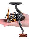 Fiskerullar Snurrande hjul 5.2:1 Växlingsförhållande+12 Kullager Hand Orientering utbytbar Kastfiske / Isfiske / Spinnfiske / Färskvatten Fiske / Karpfiske / Abborr-fiske / Drag-fiske