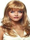 Syntetiska peruker Lockigt Lockigt Peruk Blond Mellan Blond Syntetiskt hår Dam Blond