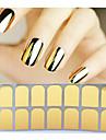 1 pcs 3D Nagelstickers Nail Foil Striping Tape nagel konst manikyr Pedikyr Abstrakt / Mode Dagligen / pvc / 3D Nail Stickers / Foliebandspapp