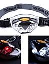 Pannlampor Framljus till cykel Vattentät Mini 1200 lm LED 6 utsläpps 3 Belysning läge Vattentät Mini Bärbar Liten storlek Camping / Vandring / Grottkrypning Cykling Jakt