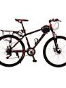Mountainbikes Cykelsport 21 Hastighet 24 tum Skivbroms Suspension Fork Anti-halk Aluminiumlegering / Stål