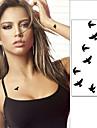 1 pcs Tatueringsklistermärken tillfälliga tatueringar Djurserier Vattentät Body art Ansikte / Kropp / händer