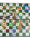 Brädspel Schackspel Professionell Metallisk 1 pcs Barn Vuxna Pojkar Flickor Leksaker Present