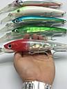 1 pcs Fiskbete Hårt bete Pimplar Spigg Flytande Bass Forell Gädda Sjöfiske Kastfiske Jiggfiske Hårt Plast Stålkabel / Trolling & Båt Fiske