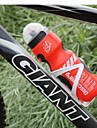 Cykel Vattenflaskor Bärbar Giftfri BPA Free Miljövänlig Till Cykelsport Racercykel Mountain Bike Fastnav Cykel Syntetisk Gul Röd Blå 1 pcs
