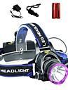 LS1792 Pannlampor Framljus till cykel Taktisk Vattentät 2000 lm LED LED 1 utsläpps 3 Belysning läge med batterier och laddare Taktisk Vattentät Zoombar Uppladdningsbar Justerbar fokus Stöttålig