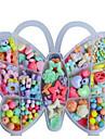de nya DIY hantverk kreativa gåva barnens pedagogiska leksaker fjäril box pärlor