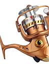 Snurrande hjul 5.2:1 Växlingsförhållande+13 Kullager Hand Orientering utbytbar Sjöfiske / Spinnfiske / Färskvatten Fiske - DF7000 / Generellt fiske