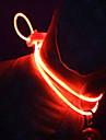 Halsband LED Lampor Justerbara/Infällbar Säkerhet Solid Plast Gul Röd Grön Blå Rosa