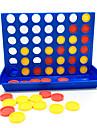 Brädspel Schackspel Plast 1 pcs Barn Vuxna Pojkar Flickor Leksaker Present