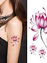 1 pcs tillfälliga tatueringar Art Deco / Retro 3D Body art Ansikte / händer / Brachium