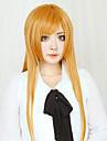 SAO Alicization Asuna Yuuki Cosplay-peruker Dam 32 tum Värmebeständigt Fiber Orange Animé