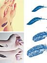 Ogiftig / Vattentät Ansikte / händer / arm tillfälliga tatueringar 1 pcs Body art Dagligen