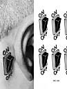 1 pcs Tatueringsklistermärken tillfälliga tatueringar Vattentät Body art Ansikte / händer / Brachium
