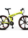 Mountainbikes / Hopfällbar Cykel Cykelsport 21 Hastighet 26 tum / 700CC Dubbel skivbroms Suspension Fork Bakhjulsupphängning Anti-halk Aluminiumlegering / Stål / Ja / #