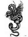 1 pcs tillfälliga tatueringar Miljövänlig / Engångsvara skuldra / tillbaka Vattenöverföringsklistermärke Tatueringsklistermärken / Tattoo Sticker