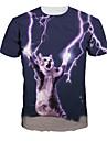 Inspirerad av Cosplay Cosplay Animé Cosplay-kostymer Cosplay T-shirt Tryck Kortärmad T-shirt Till Herr / Dam