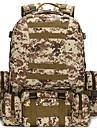 AOKALI 60L Ryggsäckar Militär taktisk ryggsäck Multifunktionell Vattentät Slitstyrka Utomhus Camping Klättring oxford ACU Färg djungel kamouflage digital Jungel