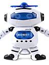 Robotar LED-belysning Musik Gulligt Sång Dans ABS Pojkar Flickor Leksaker Present 1 pcs