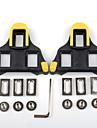 PROMEND Kil XPT / SPD 6 Degree Float Anti-halk Kompatibel med SHIMANO Hållbar Till Racercykel Cykelsport Syntetisk Gul / Svart Gul / röd 2 pcs