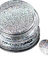 1st Akrylpulver / Puder / Glitterpulver Glitter och glans / Laser Holografisk Nail Art Design