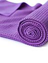 Yogahandduk Luktfri Miljövänlig Glidfri Microfiber för Yoga Pilates Bikram 183*63*0.5 cm Purpur Orange Grön