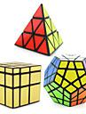 3 PCS Magic Cube IQ-kub Shengshou Pyraminx Alien Megaminx Mjuk hastighetskub Magiska kuber Stresslindrande leksaker Pusselkub professionell nivå Hastighet Professionell Klassisk & Tidlös Barn Vuxna