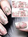 nagel konst nagel Sticker Vatten Transfer Dekaler