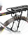 Bike Cargo Rack Max Belastning 50 kg Justerbara Reflekterande logotyp Enkel att sätta på Aluminiumlegering Racercykel Mountain Bike - Svart