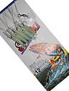 1 pcs Självlysande Bass Forell Gädda Sjöfiske Kastfiske Isfiske Silikon Kolstål / Färskvatten Fiske / Generellt fiske