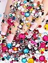 2000 pcs Nagelsmycken nagel konst manikyr Pedikyr Dagligen Glitters / Mode / Nail Smycken / ABS