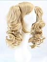 Syntetiska peruker Kostymperuker Lockigt Lockigt Med hästsvans Peruk Blond Blond Syntetiskt hår Dam Blond hairjoy