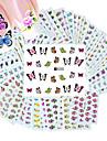 50 pcs Vattenöverföringsklistermärke nagel konst manikyr Pedikyr Mode Dagligen