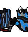 Bike Gloves / Cycling Gloves Mountain Bike MTB Breathable Anti-Slip Sweat-wicking Protective Fingerless Gloves Half Finger Sports Gloves Silicone Gel Black / Red White / Black Black / Blue for Adults\'