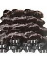 6 paket Brasilianskt hår Kroppsvågor Obehandlad hår Remy-hår Human Hår vävar 8-24 tum Naurlig färg Hårförlängning av äkta hår Dam Till färgade kvinnor 7a Människohår förlängningar / 10A