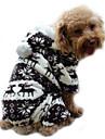 Hund Kappor Huvtröjor Jumpsuits Vinter Hundkläder Blå Rosa Grå Kostym Manchester Ren Håller värmen S M L XL XXL
