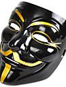 Halloweenmaskar Maskeradmaskar V for Vendetta Plast pvc Filmkaraktär Skräcktema Vuxna Pojkar Flickor