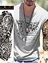 1 pcs Tatueringsklistermärken tillfälliga tatueringar Vattentät / Ogiftig / Stor storlek Body art Kropp / händer / skuldra