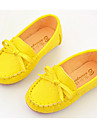Flickor Komfort PU Loafers & Slip-Ons Vit / Gul / Rosa