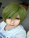 Syntetiska peruker Kostymperuker Rak Rak Peruk Grön Syntetiskt hår Dam Grön hairjoy