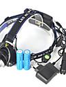 Pannlampor Framljus till cykel 5000 lm LED LED utsläpps 1 Belysning läge Vinklad Ficklampa Superlätt Camping / Vandring / Grottkrypning Cykling Jakt